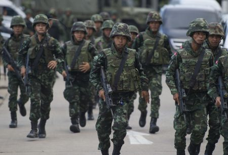 Таиландские солдаты