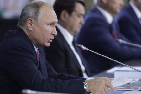 Владимир Путин. Фотобанк ВЭФ (ТАСС)