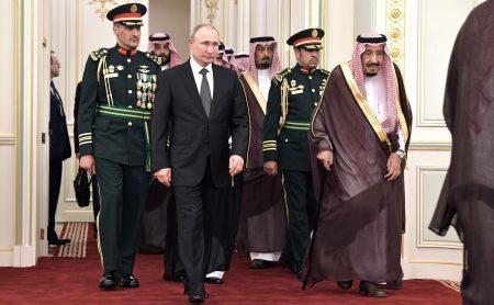 Путин в Саудовской Аравии